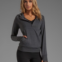 So Low Eclon Hooded Jacket in Heather Charcoal
