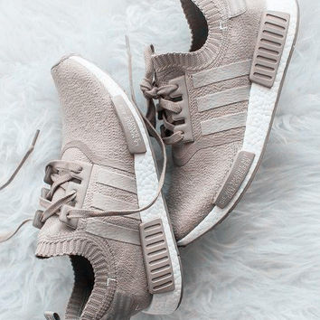 """Adidas"" NMD Fashion Running Sports Shoes Khaki"