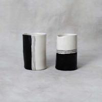 Half Moon Cups III - Set of 2