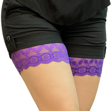 Anti Chafing Thigh Bands Rubbing Skin Thighs Irritation Legs Lace Bands Chub Rub Underware Antichafing Inner Thighs Skin Protection