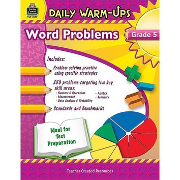 DAILY WARM UPS WORD PROBLEMS GR 5