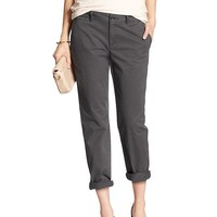 Banana Republic Womens Factory Roll Up Boyfriend Chino