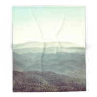 Society6 Mountain View Blanket