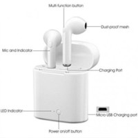 Wireless Bluetooth Ear Pods Earbuds Headphones Stereo TWS For Apple 6 7 8