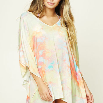 Abstract Cover-Up Kaftan