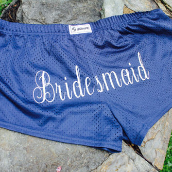 Bridesmaid shorts