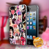 Austin Mahone Collage - Print on hard plastic case for iPhone case. Select an option