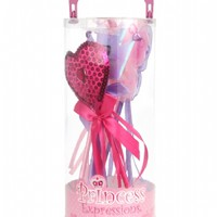 3pc Princess Gift Set, with Skirt, Tiara, and Wand In Box
