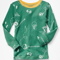 Gap Baby Long Sleeve Sports Sleep Shirt