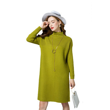 Long Sweater Dress Maxi Long Sleeve Women Cashmere Full Winter Sweater Plus Size Xxxl Slim Sexy Women Sweaters Pullovers New