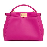 Fendi Pink Mini Peekaboo