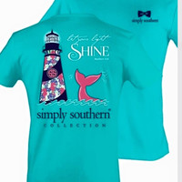 Lighthouse Simply Southern Tee