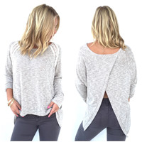 Angel Eyes Knit Sweater Top