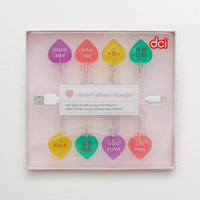DCI Candy Heart Charger, Multi