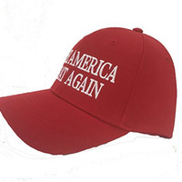 "Red Donald Trump ""Make America Great Again"" Hats. Embroidered Baseball Style Otto Cap. 2016 Republican Presidential Candidate. Show Support! (Red Caps Trump, Otto One Size Fits Most Baseball)"
