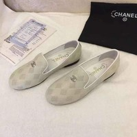 Chanel Women Low Heel Shoes