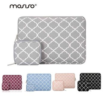 Mosiso 11 12 13 14 15 inch Flower Women Laptop Sleeve Bag for Macbook Air Pro 13 Dell Asus Acer Samsung Chromebook 11.6 13.3