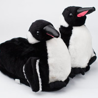 Penguin Slippers | Animal Slippers | BunnySlippers.com