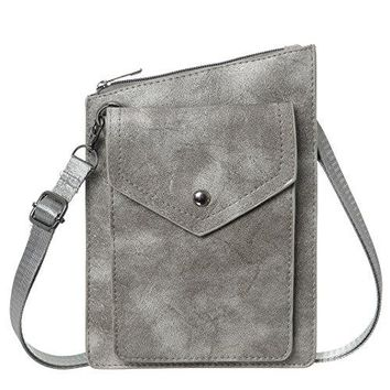 Small Crossbody Purse Women Synthetic Leather Cell Phone Crossbody Bags Wallet