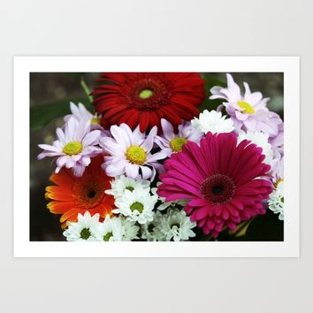 Eclectic colors Art Print by Pepperberry and Sage