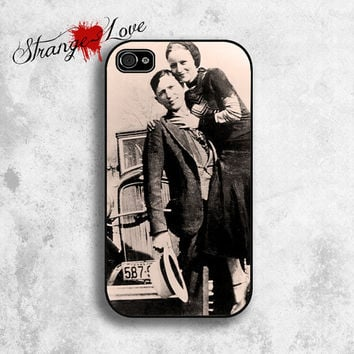 iPhone 5 & 4 / 4s case  Bonnie and Clyde by StrangeLoveTees