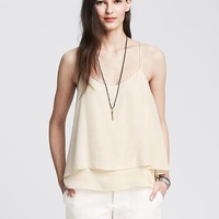 Banana Republic Womens Double Layer Cami