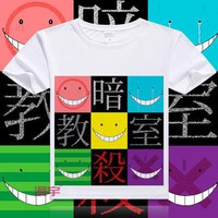 Assassination Classroom Short Sleeve Anime T-Shirt V12