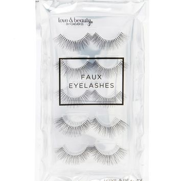 Faux Eyelashes Set