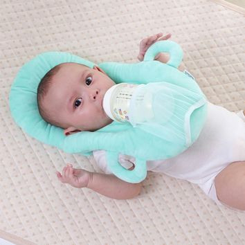 Super Soft Layered, Multi-Functional, HANDS FREE Nursing Pillow, Washable Cover