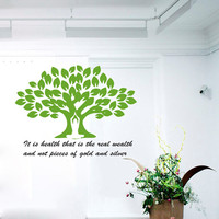 Wall Decal Vinyl Sticker Decals Art Home Decor Design Murals Sport Decals Health Quotes Decal Yoga Studio Decals Yoga Quotes Decals OP25