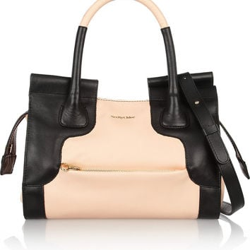 See by Chloé | Iris two-tone leather tote | NET-A-PORTER.COM