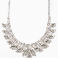 Mini Bib Marquise Necklace | RSVP Special Occasion | charming charlie