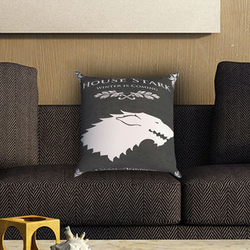 House Strack Game of Thrones Pillow Cover , Custom Zippered Pillow Case One Side Two SIde
