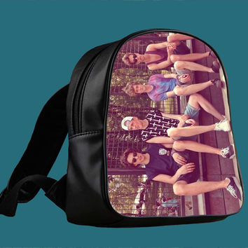The Vamps Crew English Boys Band X factor for Backpack / Custom Bag / School Bag / Children Bag / Custom School Bag *