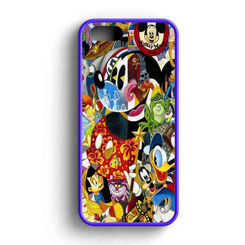 Disney Character Famous iPhone 5 Case iPhone 5s Case iPhone 5c Case