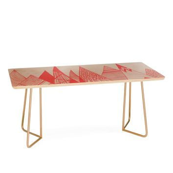 Viviana Gonzalez Patterns in the mountains Coffee Table | Deny Designs Home Accessories