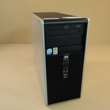 HP Compaq Desktop Computer 2.13GHz And 1.57GHz HardDrive 80GB DC5700M Microtower -- Used