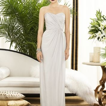 Dessy Collection Lux Chiffon Long Dress 2882