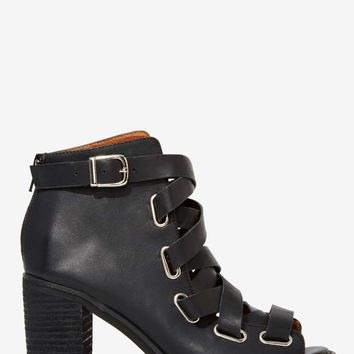 Jeffrey Campbell Salazar Leather Bootie