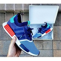Day-First™ ADIDAS NMD R1 PK X PACKERS SHOES men and women Casual running shoes