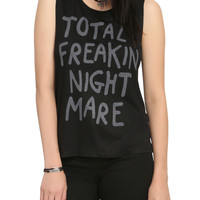 Teen Hearts Total Freakin Nightmare Girls Muscle Top
