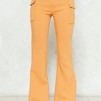 Take Flare of Things High-Waisted Pants