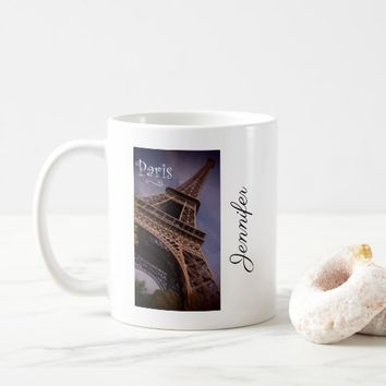 Paris Eiffel Tower Famous Landmark Photo Custom Coffee Mug