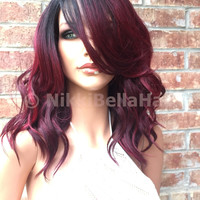"""Janet Sizzling Red Front Lace Wig 10"""" Heat Ok 1103"""