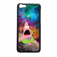 Patrick Star On Galaxy Nebula iPhone 5c Case