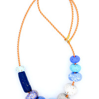 Cornflower Necklace