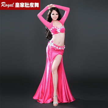 New design top grade high quality a belly dance suit/belly dance costume/belly dance wear/BRA belt skirt 8381 sonya
