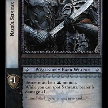 Lord of the Rings TCG - Nazgul Scimitar - The Return of the King