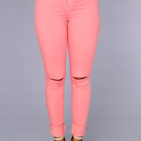 Canopy Jeans - Coral