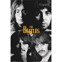 The Beatles - Grid 22x34 Standard Wall Art Poster
